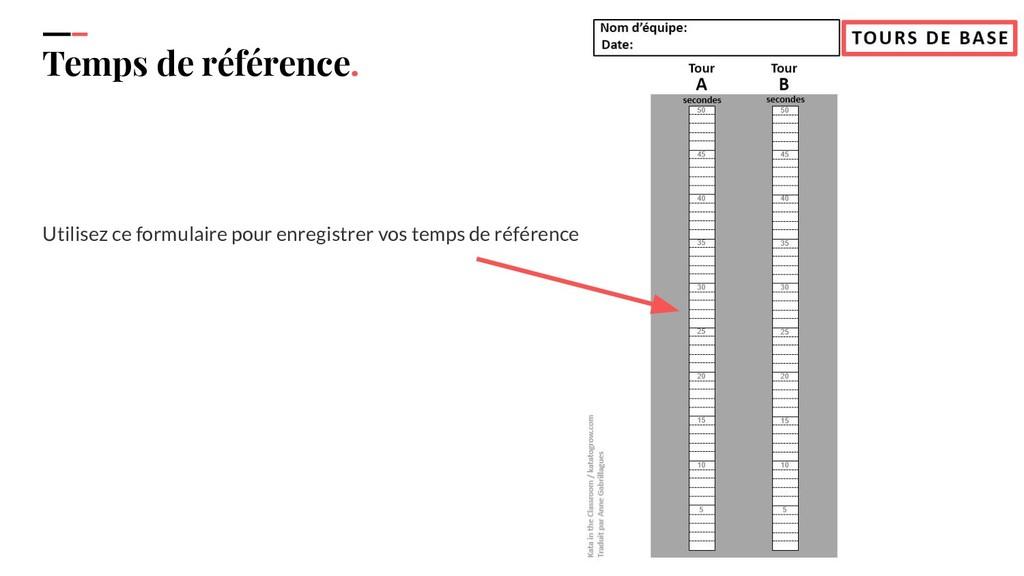 IPPON 2019 Temps de référence. Utilisez ce form...