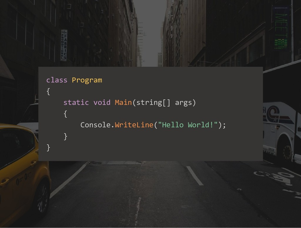 class Program { static void Main(string[] args)...