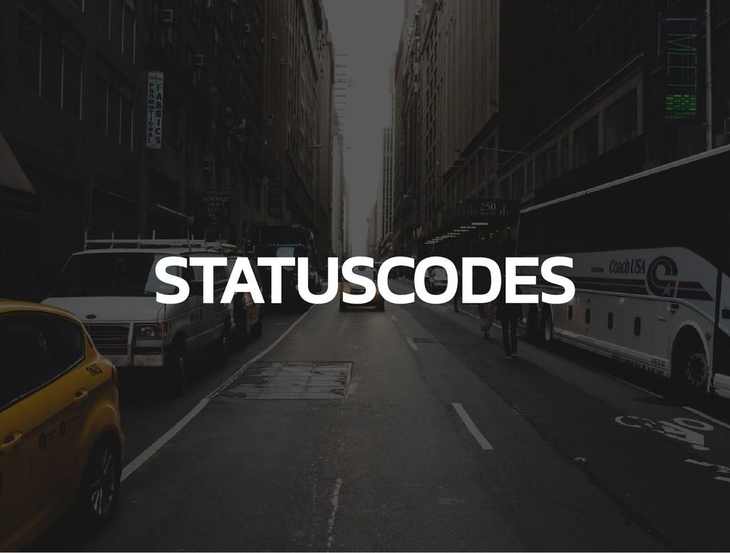 STATUSCODES
