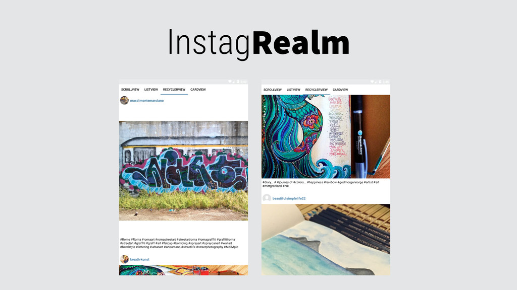 InstagRealm