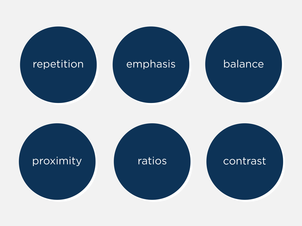 repetition emphasis balance proximity ratios co...