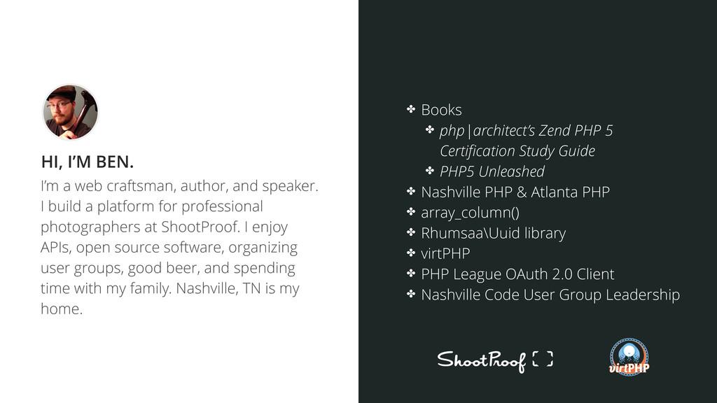I'm a web craftsman, author, and speaker. I bui...