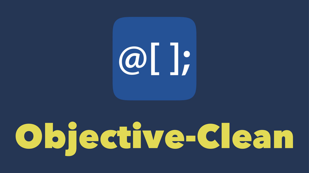 Objective-Clean