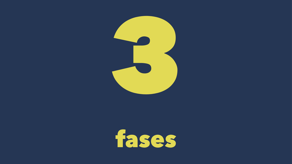3 fases