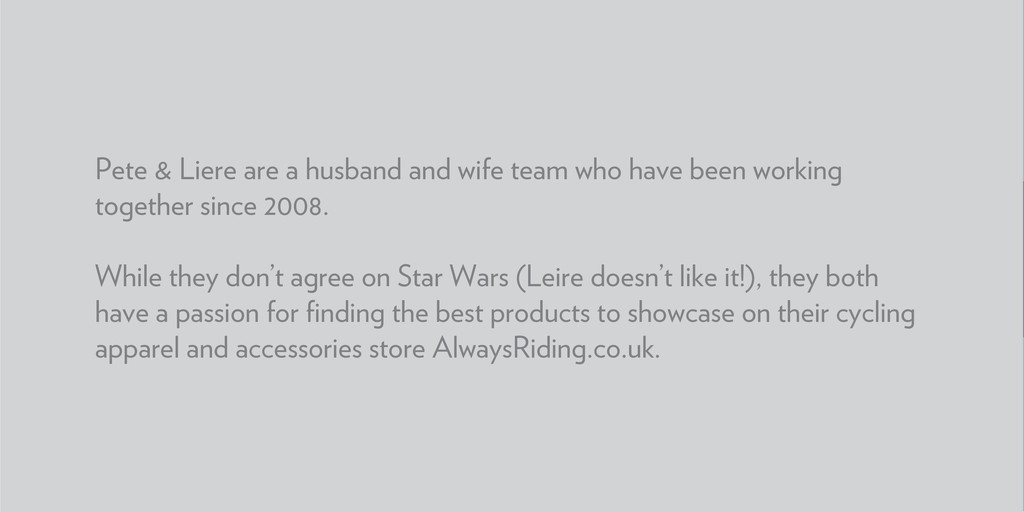 Pete & Liere are a husband and wife team who ha...