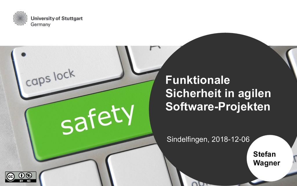 Sindelfingen, 2018-12-06 Stefan Wagner Funktion...