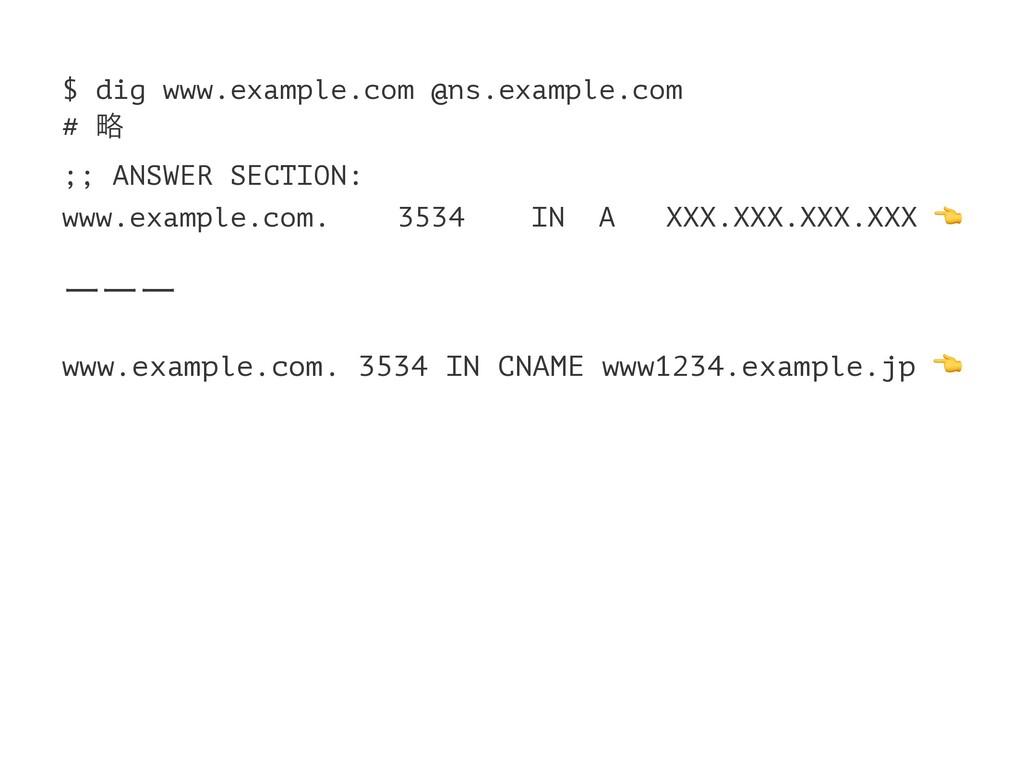 $ dig www.example.com @ns.example.com # ུ ;; AN...
