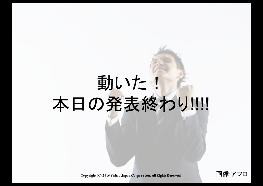 Copyright (C) 2016 Yahoo Japan Corporation. All...