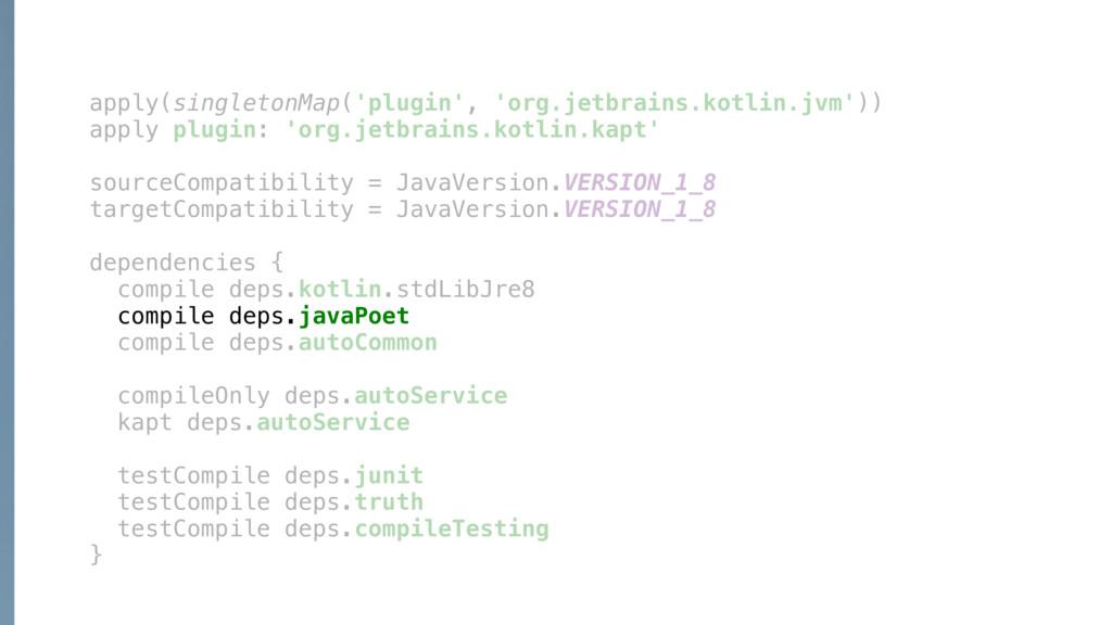 apply(singletonMap('plugin', 'org.jetbrains.kot...