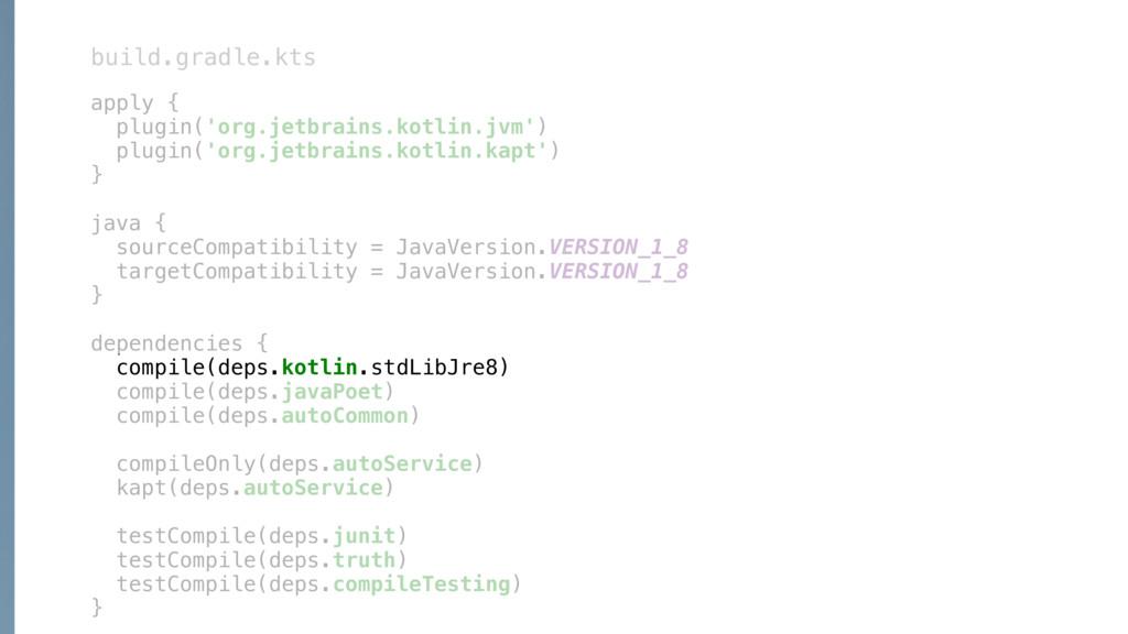 apply { plugin('org.jetbrains.kotlin.jvm') plug...
