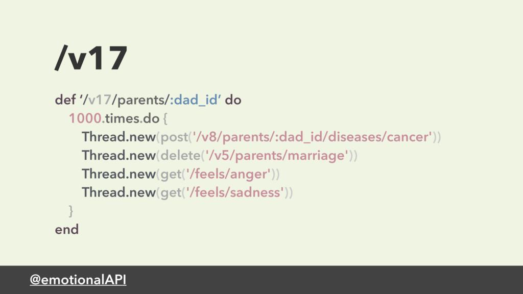 @emotionalAPI /v17 def '/v17/parents/:dad_id' d...