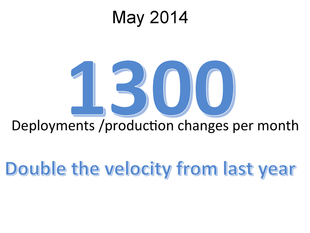 May 2014 Deployments /produc5on changes...