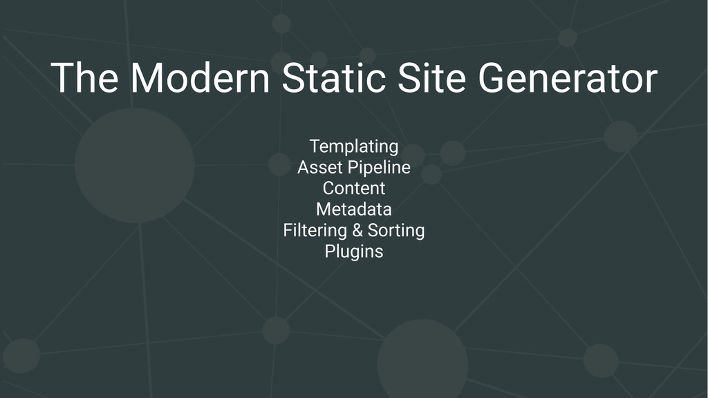 The Modern Static Site Generator Templating Ass...