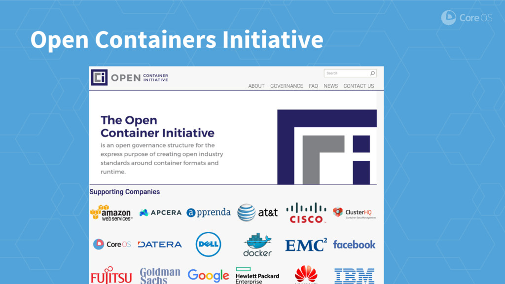 Open Containers Initiative