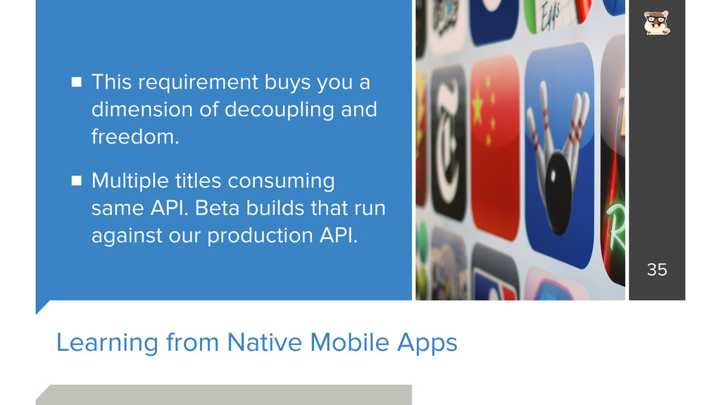 Learning from Native Mobile Apps This requireme...