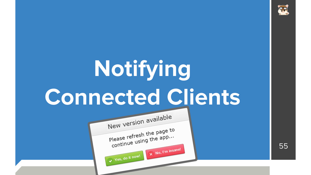 55 Notifying Connected Clients