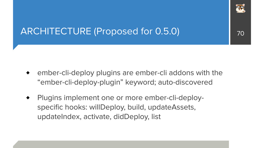 ARCHITECTURE (Proposed for 0.5.0) ember-cli-dep...
