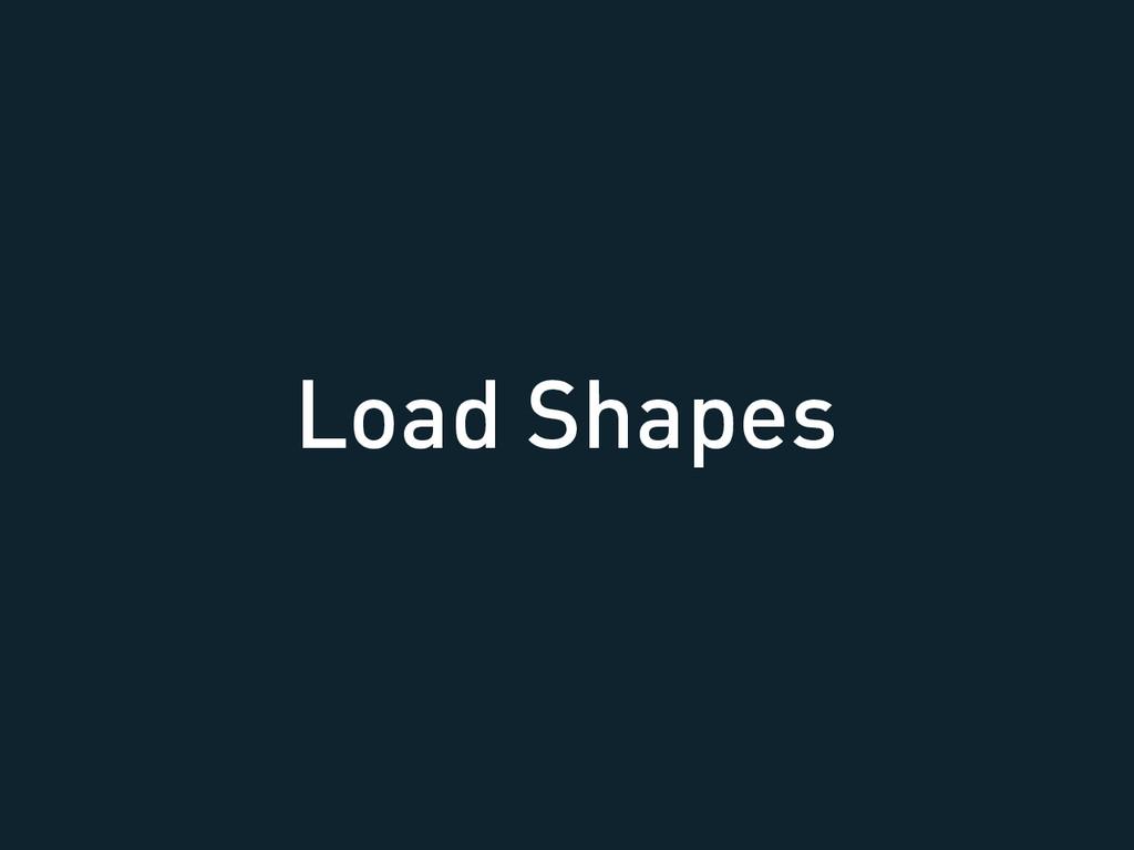 Load Shapes