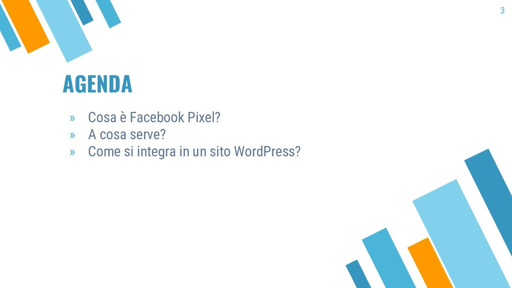 AGENDA » Cosa è Facebook Pixel? » A cosa serve?...