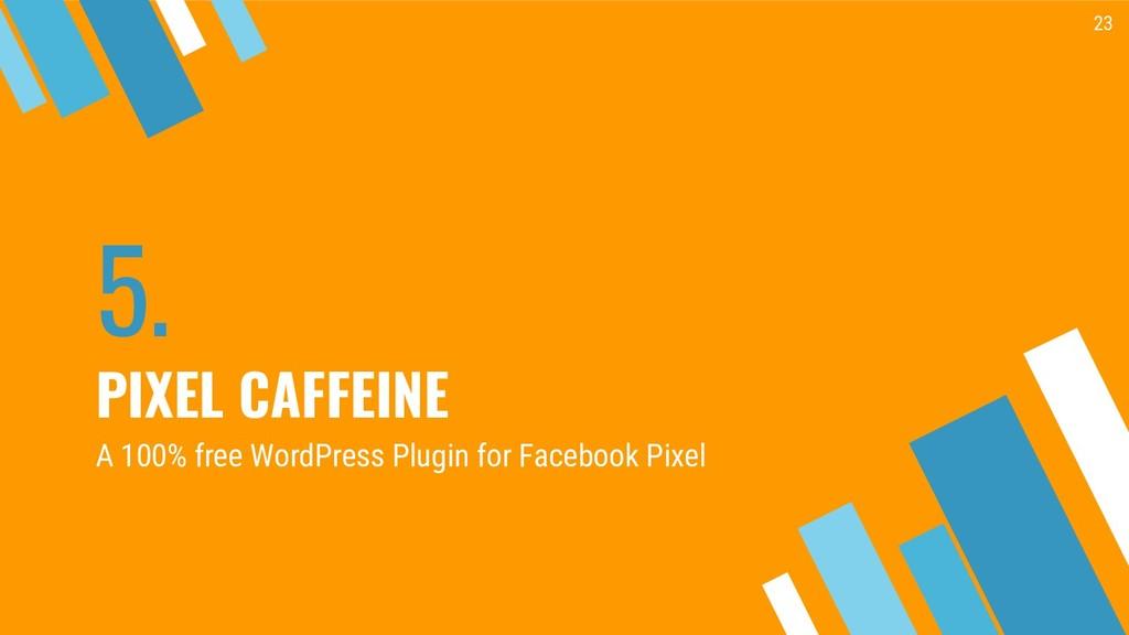 5. PIXEL CAFFEINE 23 A 100% free WordPress Plug...