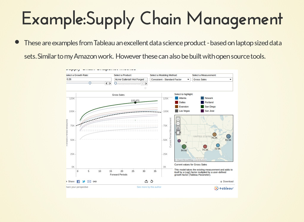 Example:Supply Chain Management Example:Supply ...