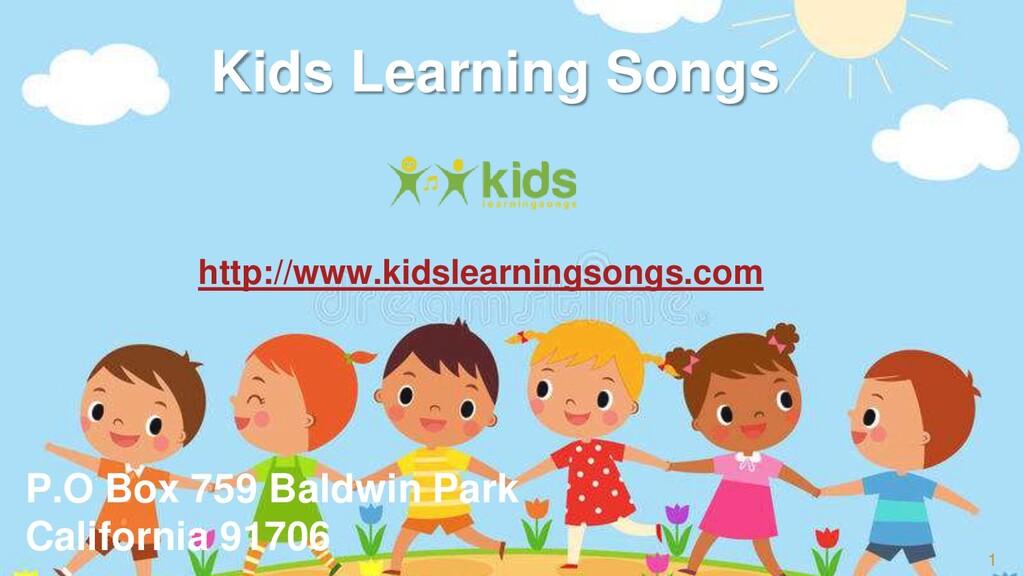 1 Kids Learning Songs http://www.kidslearningso...