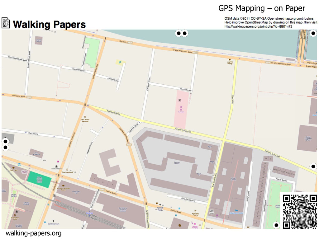 walking-papers.org GPS Mapping – on Paper
