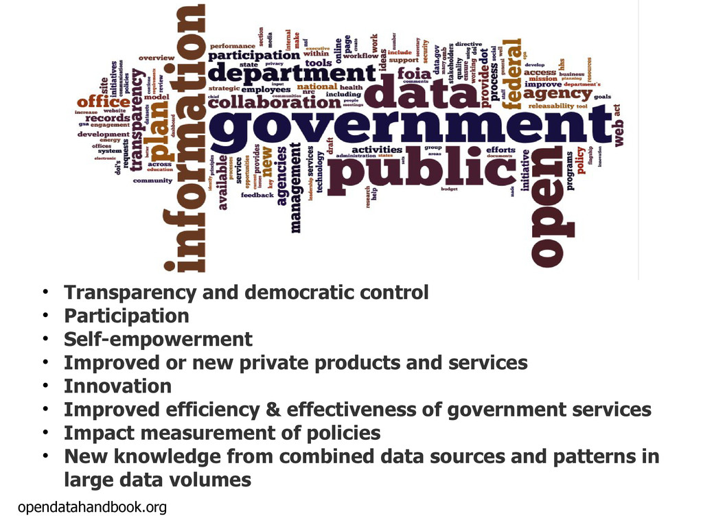 opendatahandbook.org • Transparency and democra...