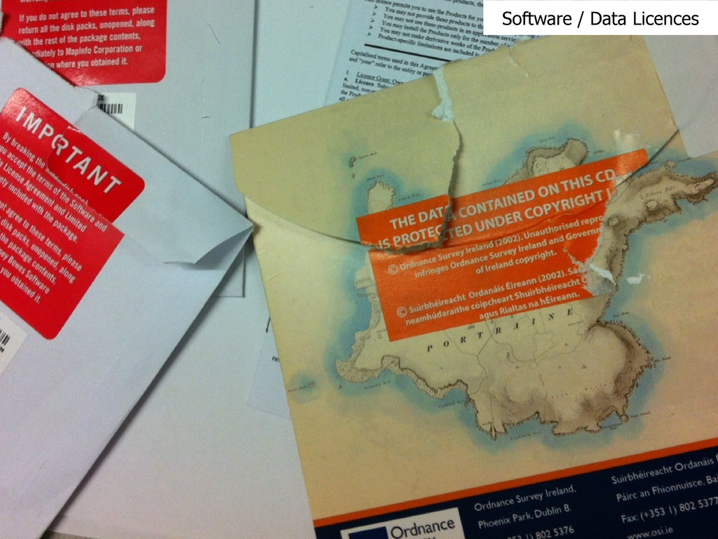 Software / Data Licences