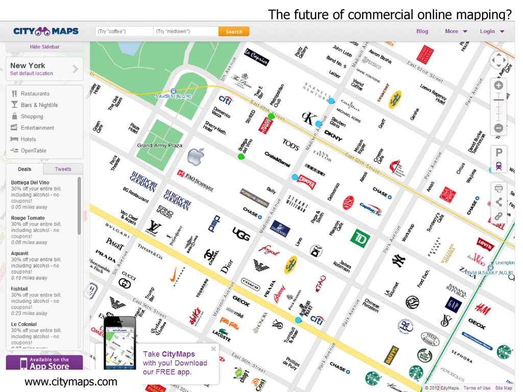 The future of commercial online mapping? www.ci...