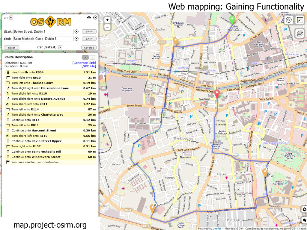 Web mapping: Gaining Functionality map.project-...
