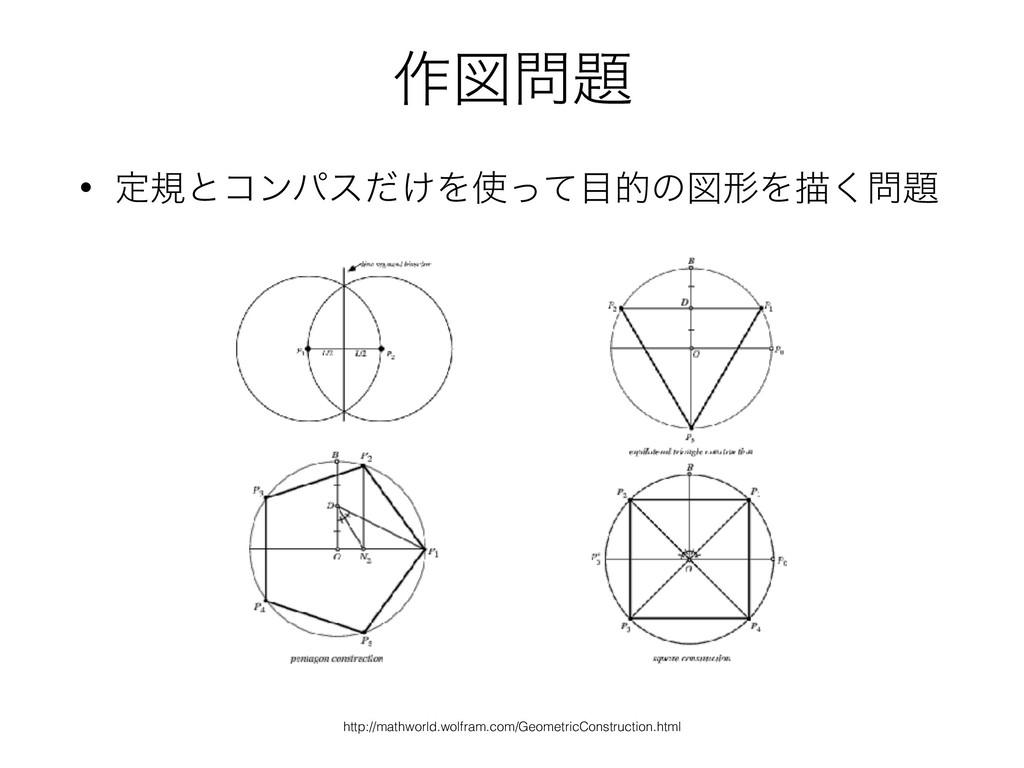 ࡞ਤ • ఆنͱίϯύε͚ͩΛͬͯతͷਤܗΛඳ͘ http://mathworld...
