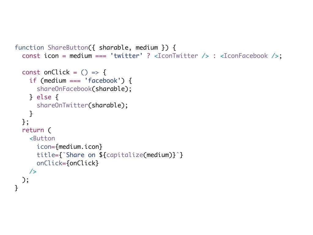 function ShareButton({ sharable, medium }) { co...
