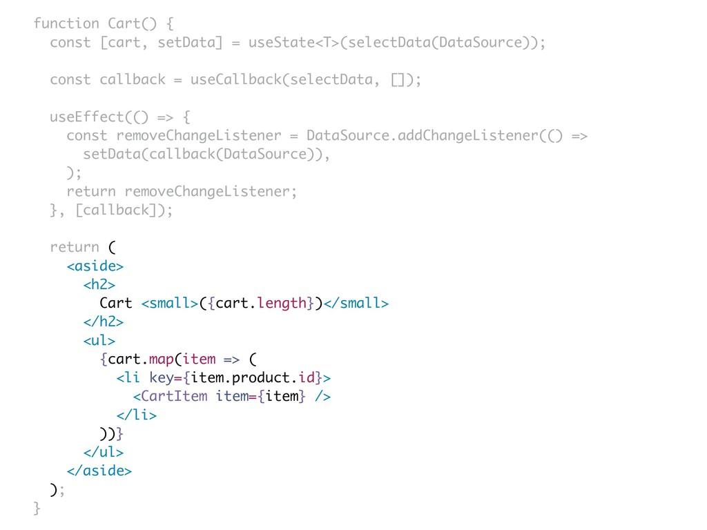 function Cart() { const [cart, setData] = useSt...