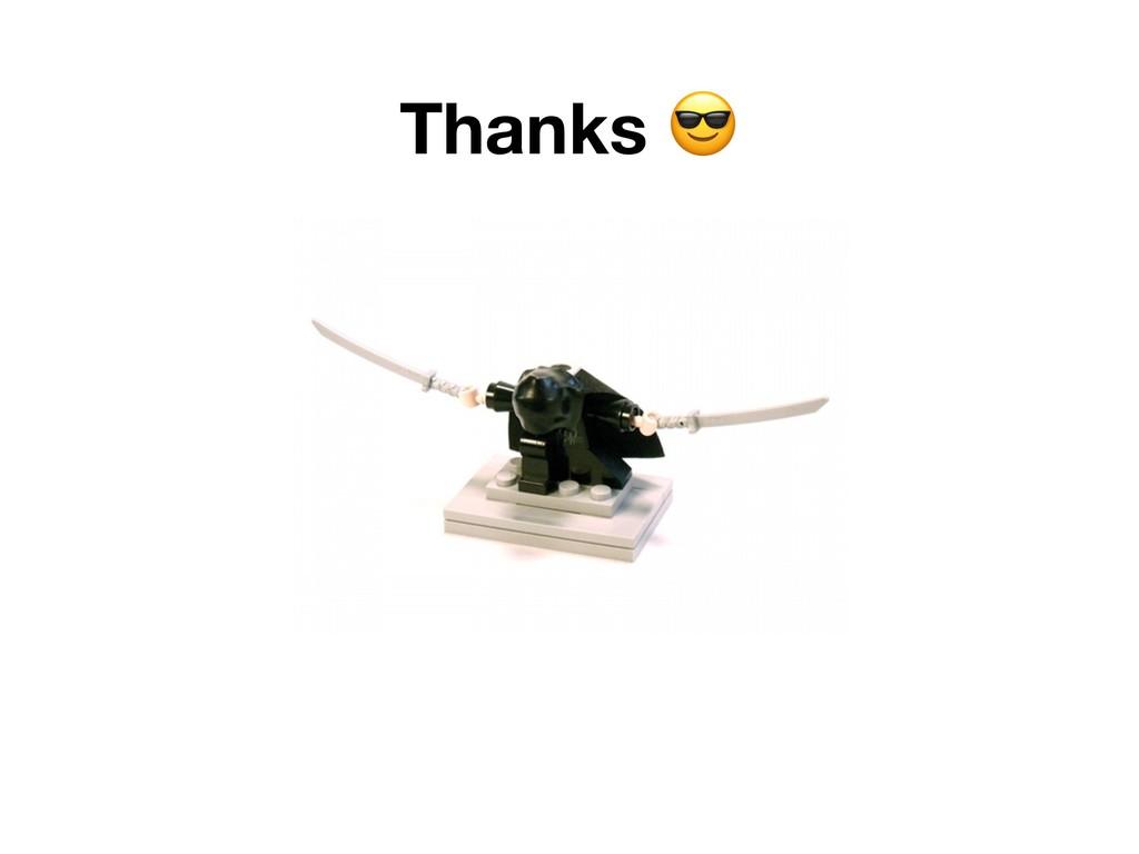 Thanks ;