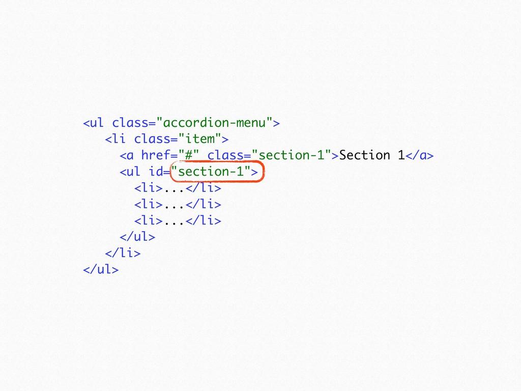 "<ul class=""accordion-menu""> <li class=""item"">..."
