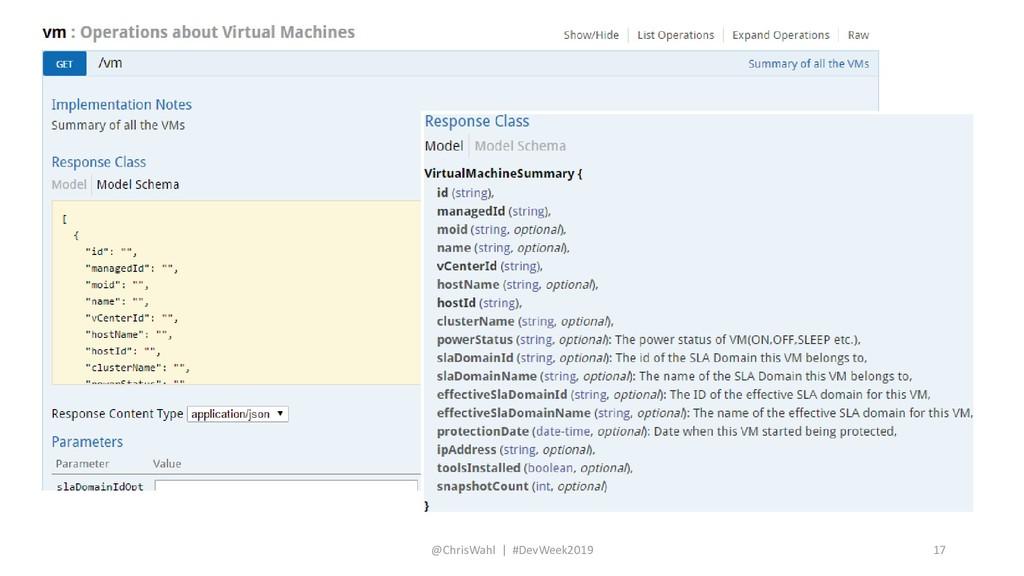 @ChrisWahl | #DevWeek2019 17