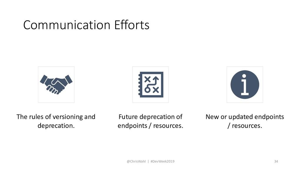 Communication Efforts @ChrisWahl | #DevWeek2019...