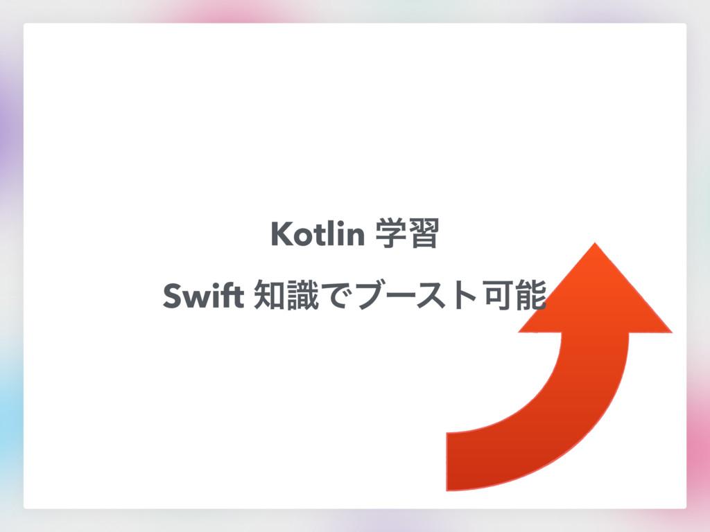 Kotlin ֶश Swift ࣝͰϒʔετՄ