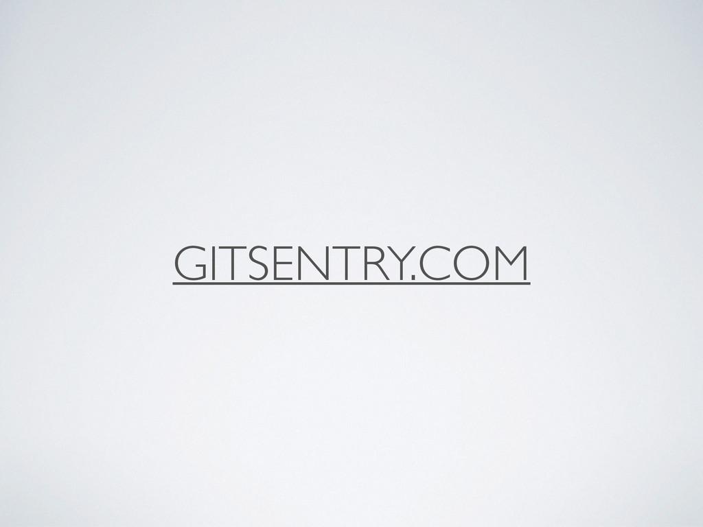 GITSENTRY.COM