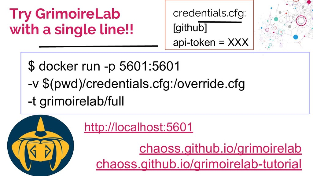 chaoss.community Try GrimoireLab with a single ...