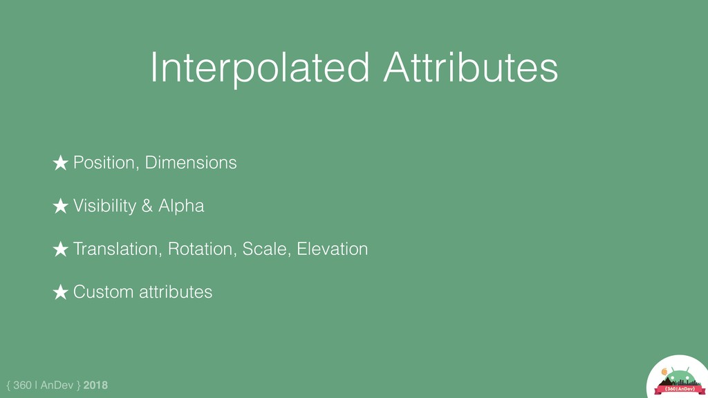 { 360 | AnDev } 2018 Interpolated Attributes ★ ...