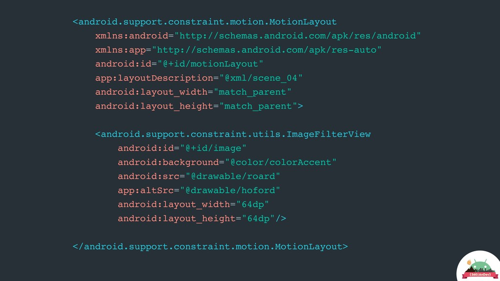 <android.support.constraint.motion.MotionLayout...