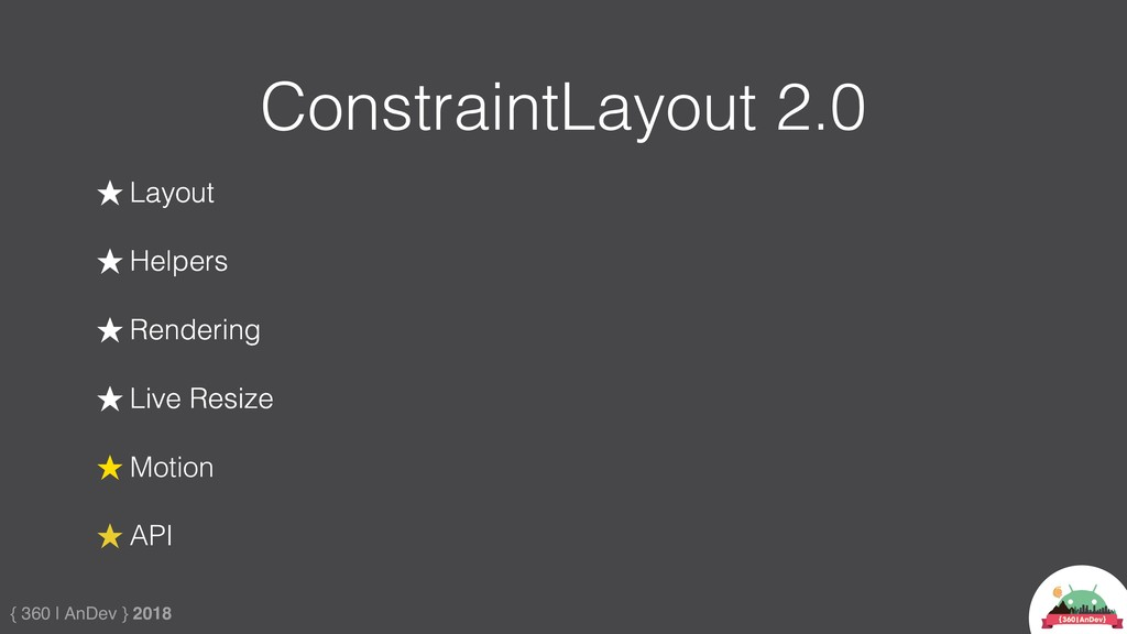 { 360 | AnDev } 2018 ConstraintLayout 2.0 ★ Lay...