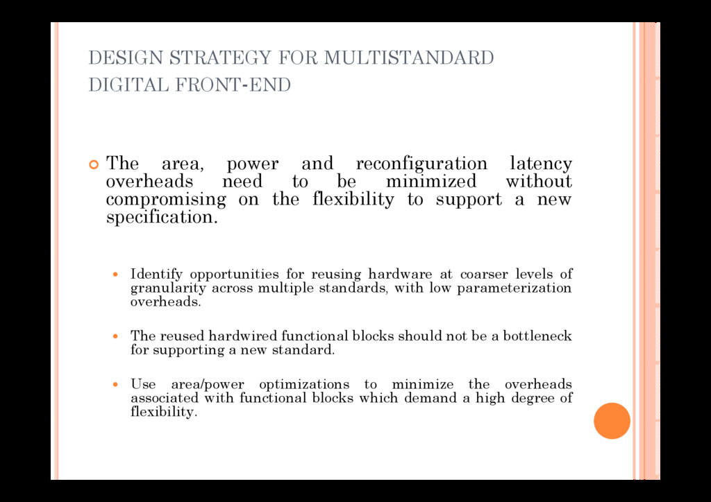DESIGN STRATEGY FOR MULTISTANDARD DIGITAL FRONT...