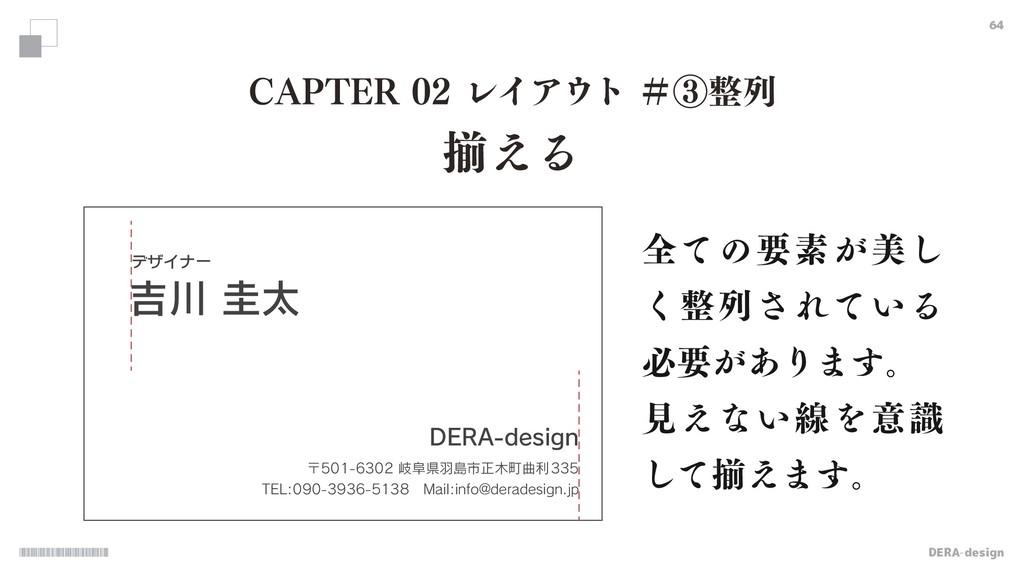 """DERA-design 64 $""""15&3ϨΠΞτˌᶅྻ ଗ͑Δ σβΠφʔ %..."""