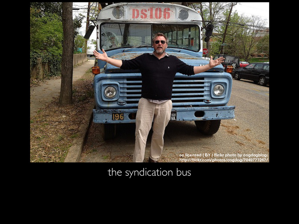 the syndication bus cc licensed ( BY ) flickr ph...