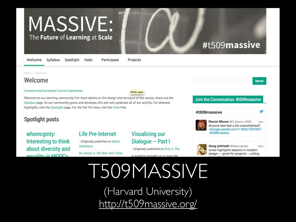 T509MASSIVE (Harvard University) http://t509mas...