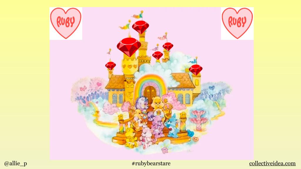 @allie_p #rubybearstare collectiveidea.com