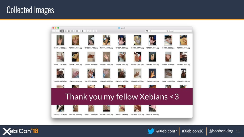 @Xebiconfr #Xebicon18 @bonbonking 15 Thank you ...